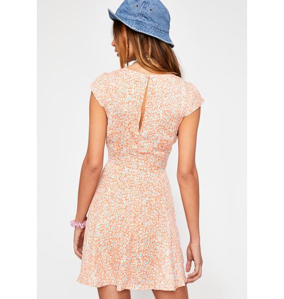 Aye Poppy Floral Dress
