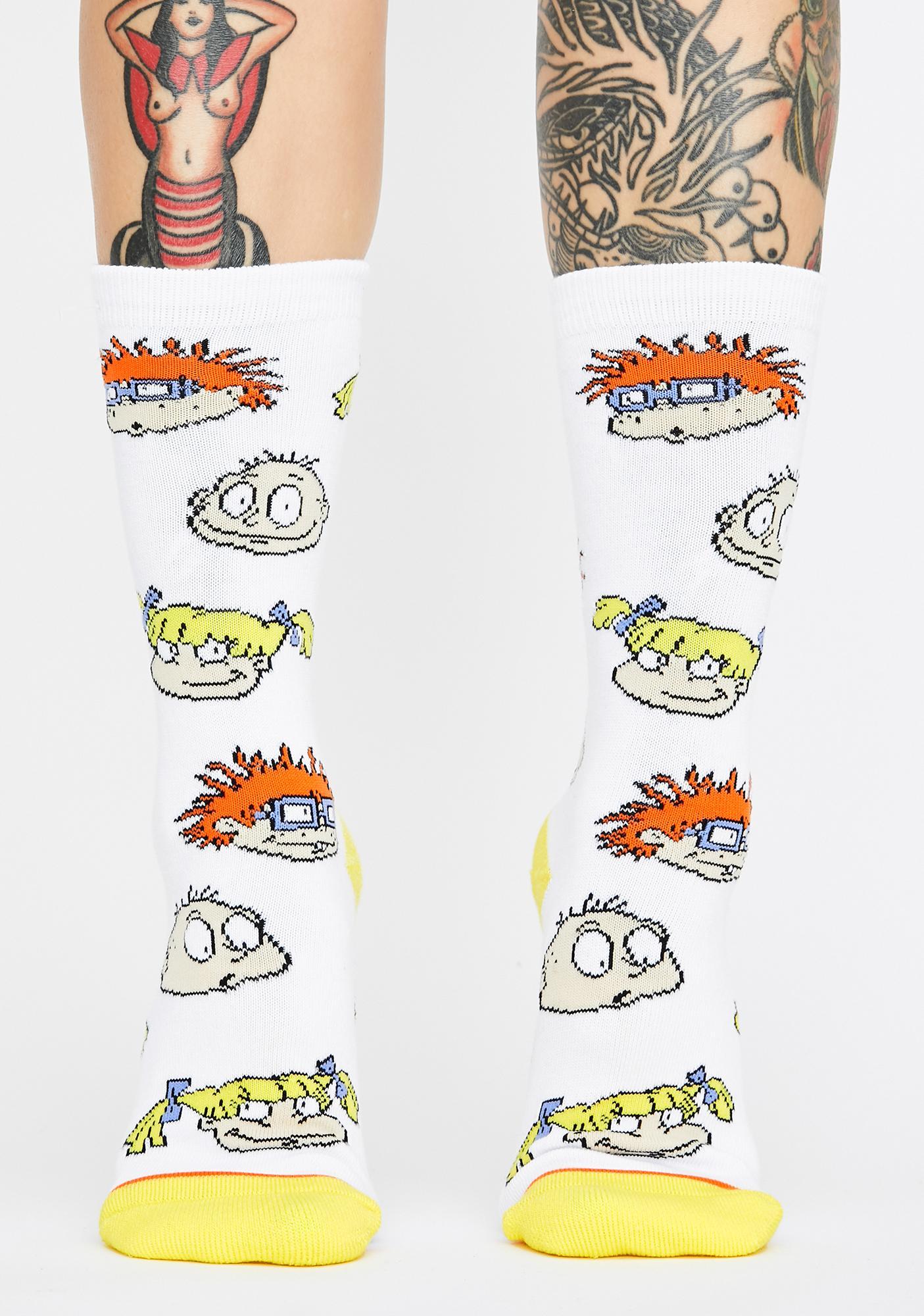 Cool Socks Rugrats Squad Crew Socks