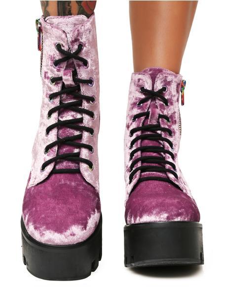 Velvet Vacation Odyssey Boots
