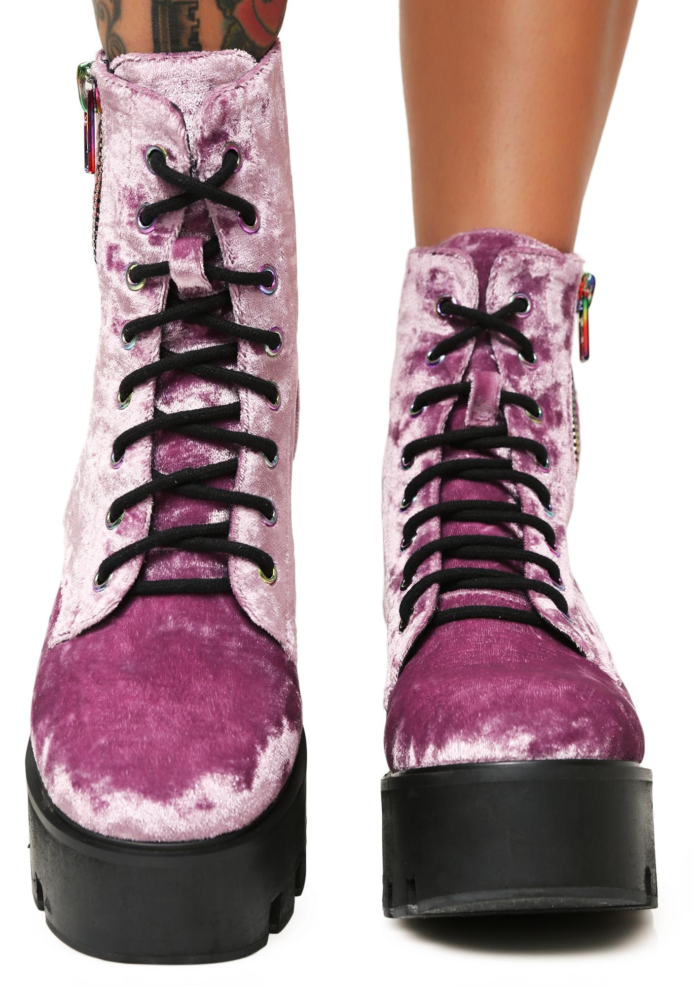 Current Mood Velvet Vacation Odyssey Boots