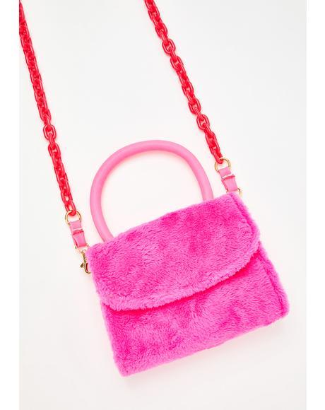 Lolly Day In The Park Fuzzy Handbag