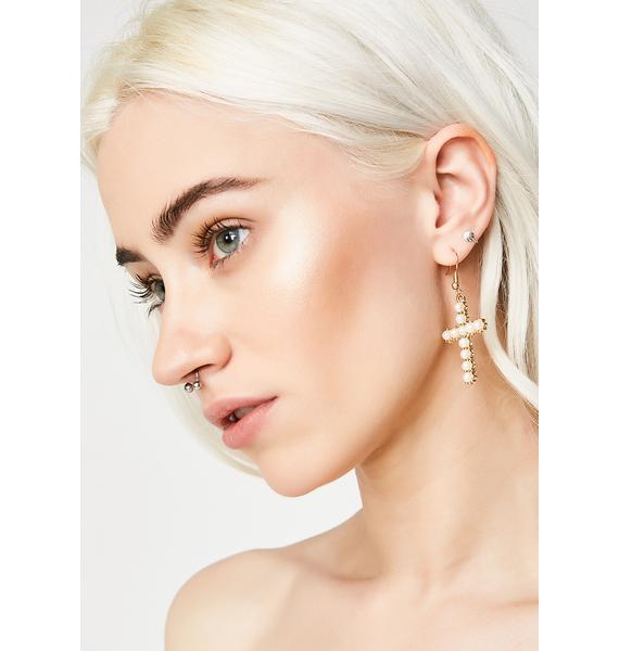 Cross Your Heart Earrings