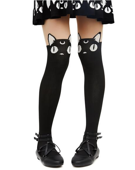 Kawaii Till I Die Tights