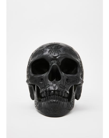 Nephilim Resin Skull