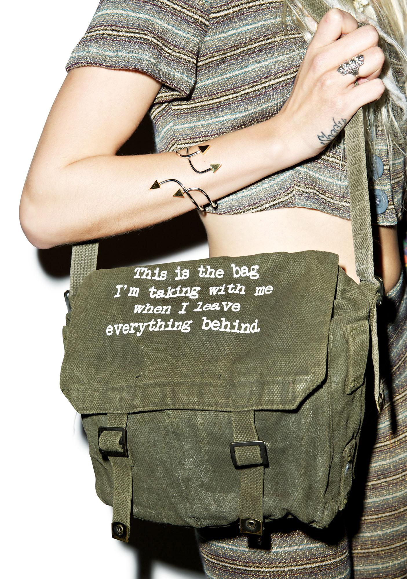 Jac Vanek This Is The Bag Military Bag