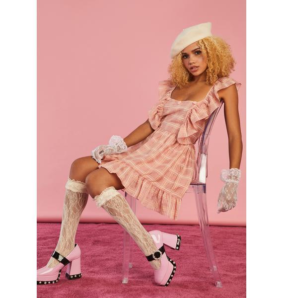 Sugar Thrillz Afternoon Picnic Apron Dress