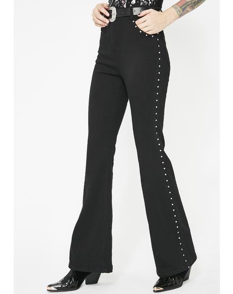 Wicked West Flared Jeans