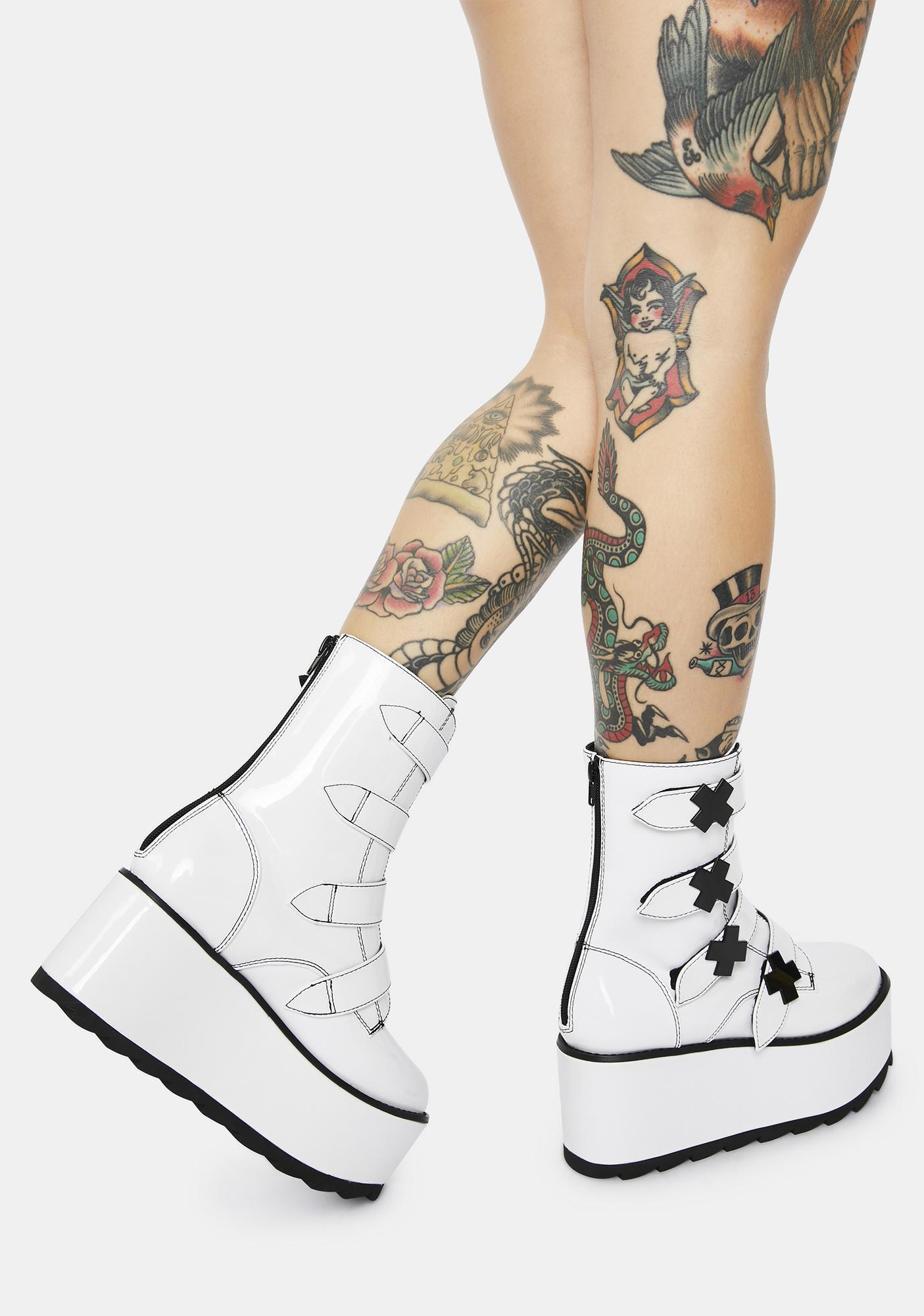 Y.R.U. Karma X Storm TT Patent Platform Boots