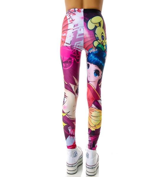 BamBam Manga Leggings