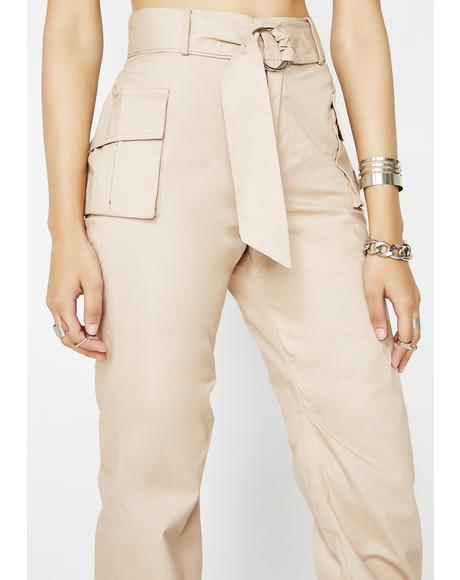 High Profile Cargo Pants