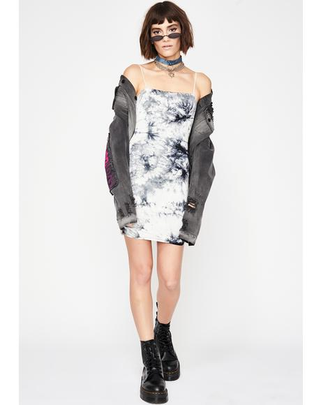 Curfew Crusader Tie Dye Dress