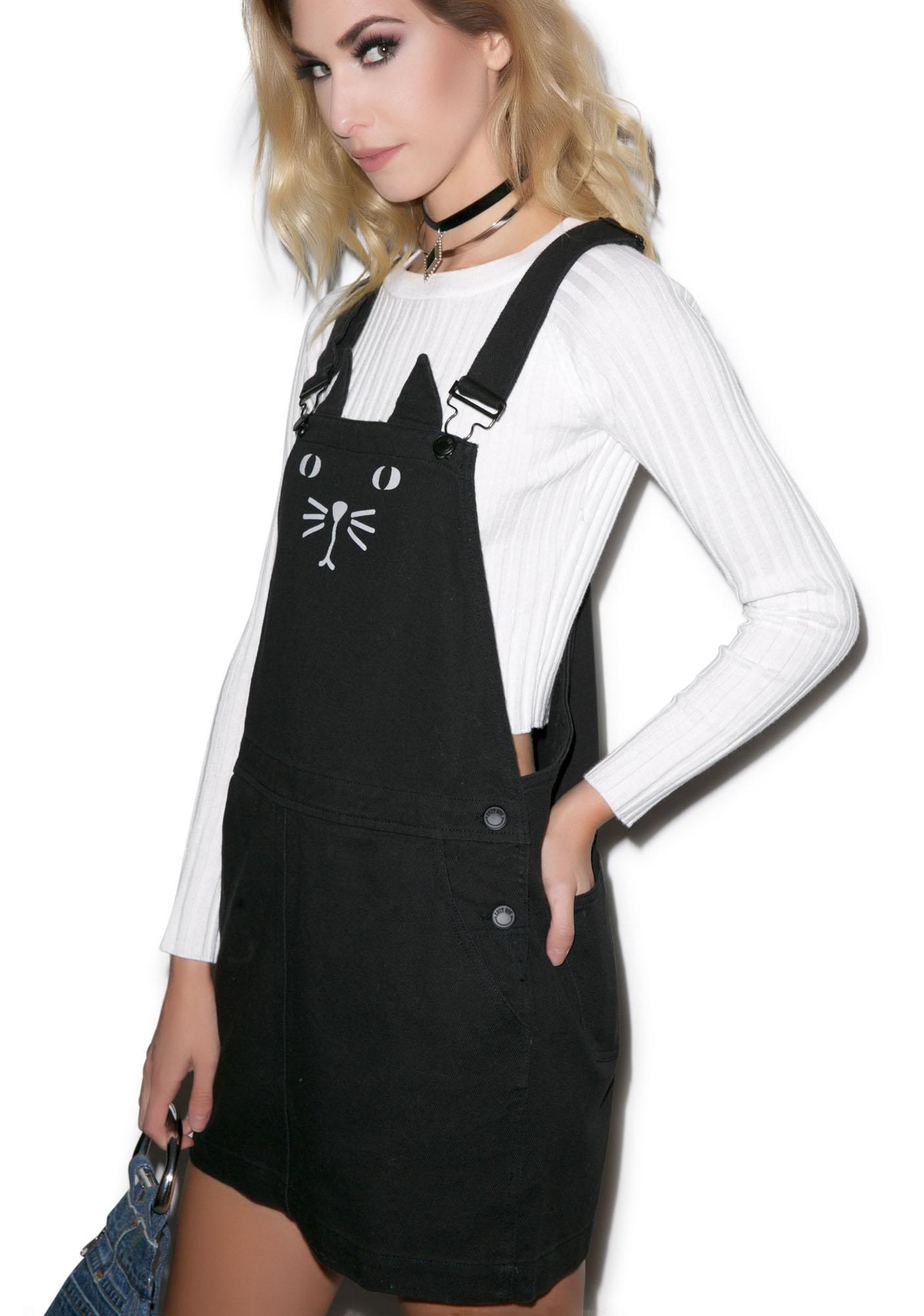 Lazy Oaf Cat A Fore Pinafore