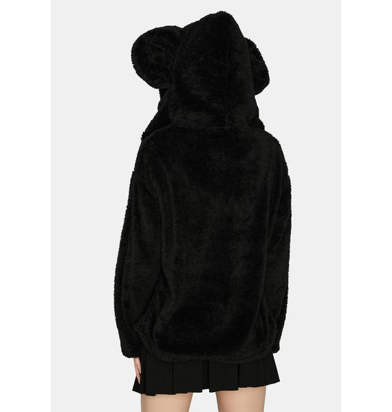 Cuddle Bear Faux Fur Jacket