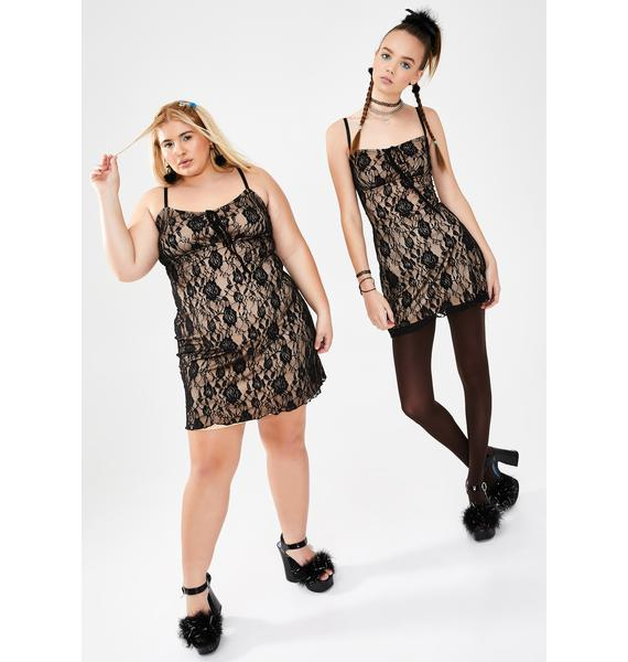 dELiA*s by Dolls Kill Sugar N' Spice Lace Dress
