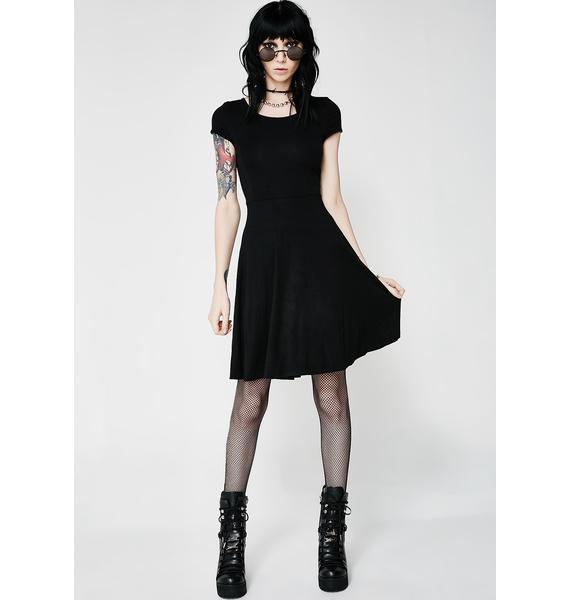 Killstar Widows Skater Dress