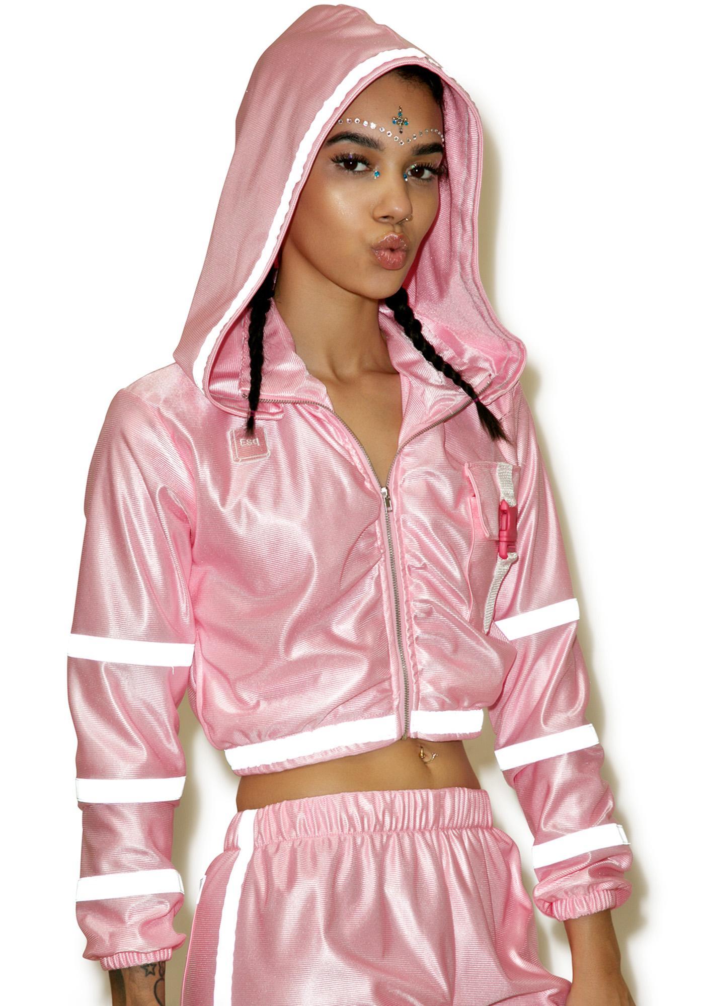 ESQAPE Pynk Treq Reflective Jacket