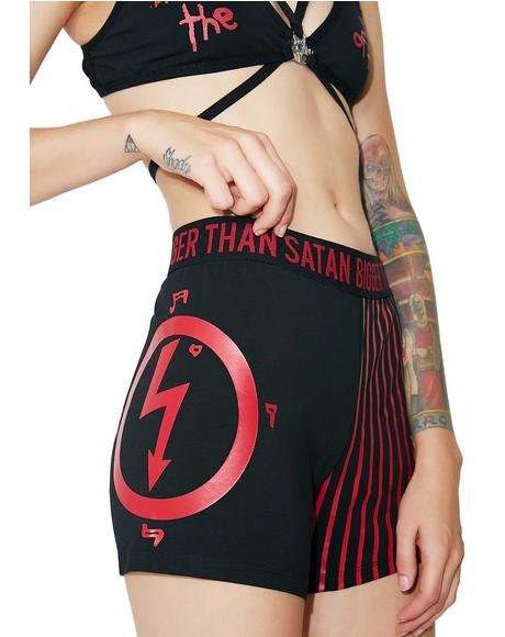 Bigger Than Satan Boxer Shorts