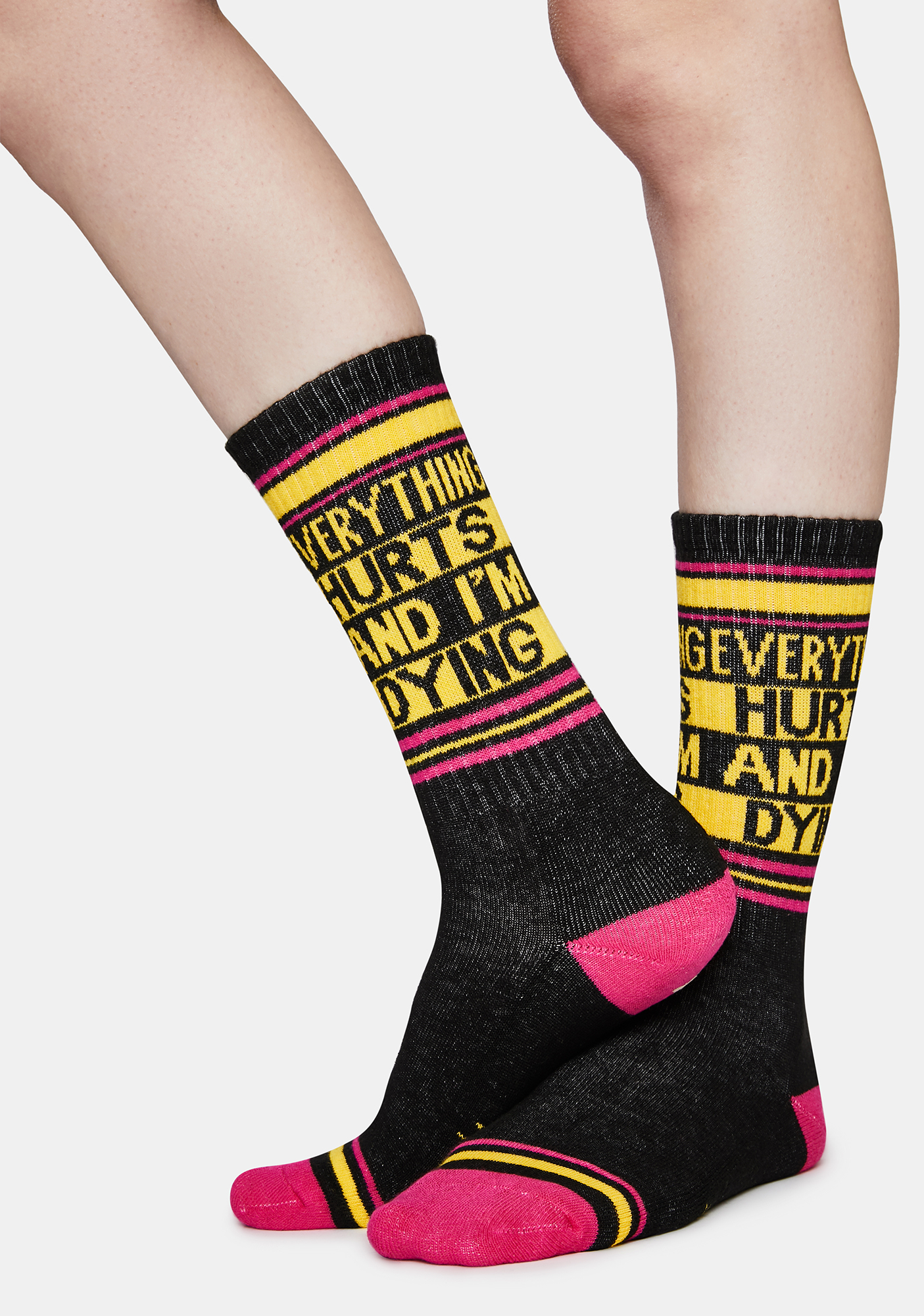 Heavy Metal Made Me What I Am Today Gumball Poodle Unisex Crew Socks
