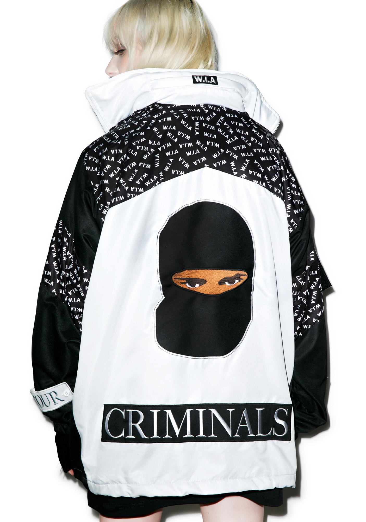 W.I.A Criminals White Jacket