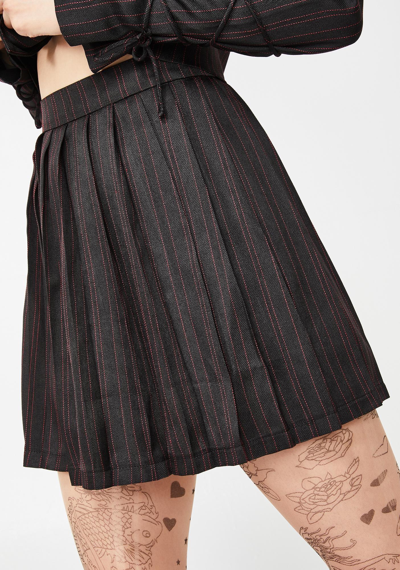 8a8e7450eb Head Mistress Pleated Skirt | Dolls Kill