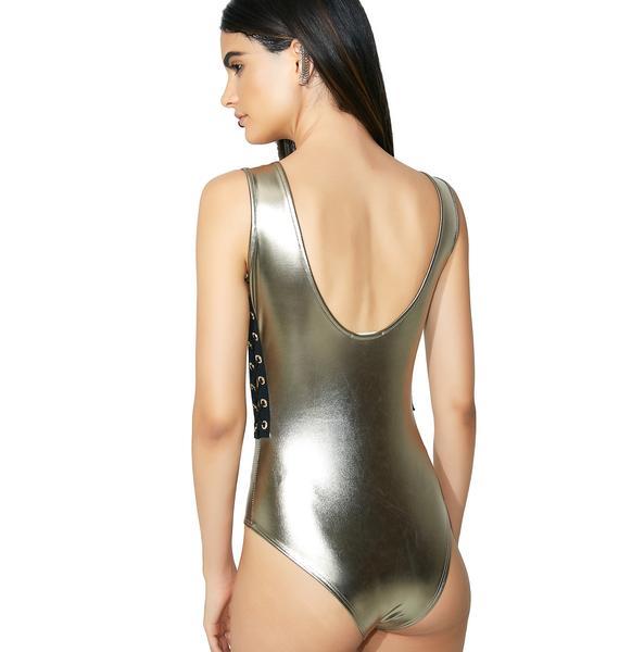 Gold Card Bodysuit