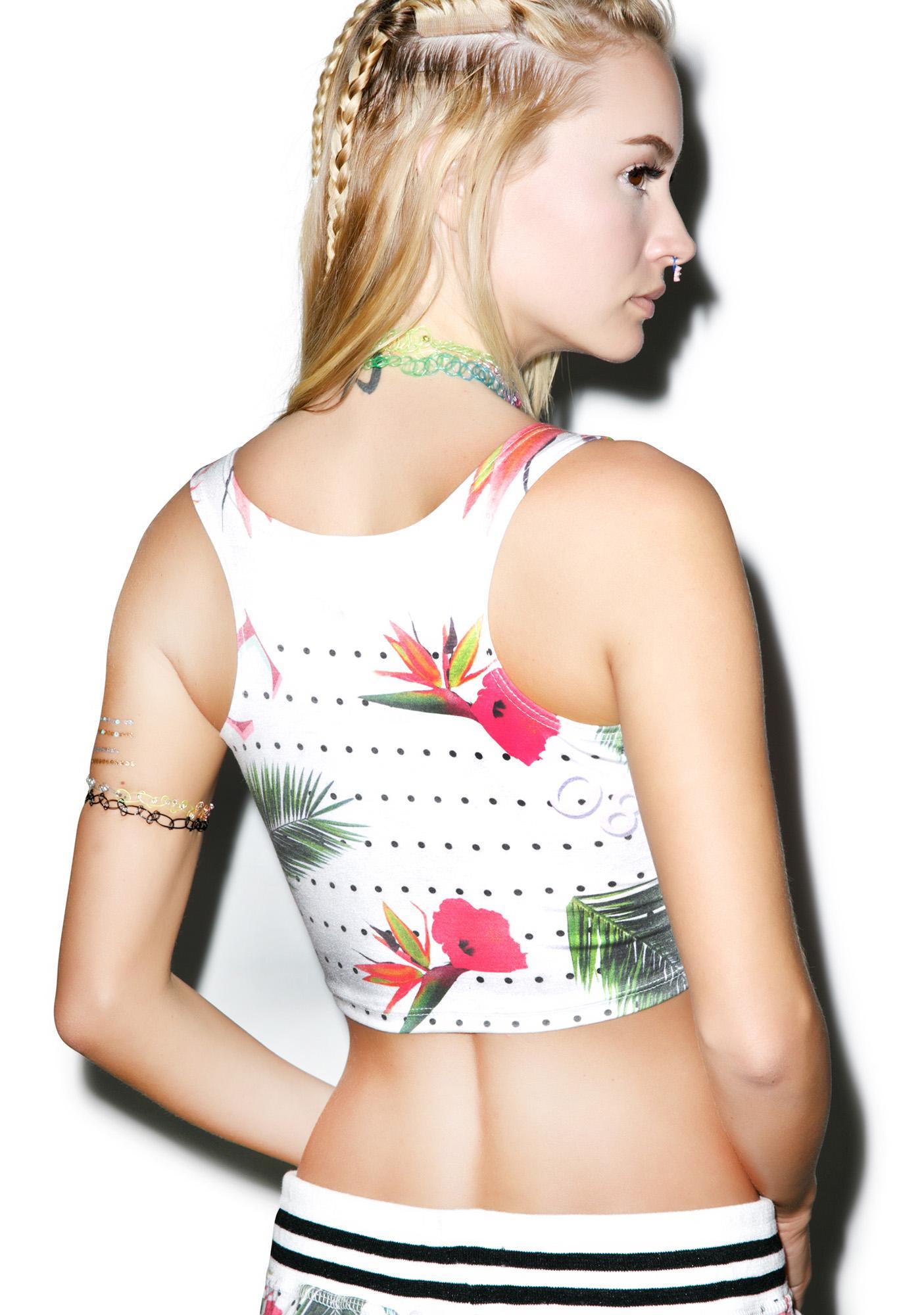 Civil Clothing Floral Basic Tank