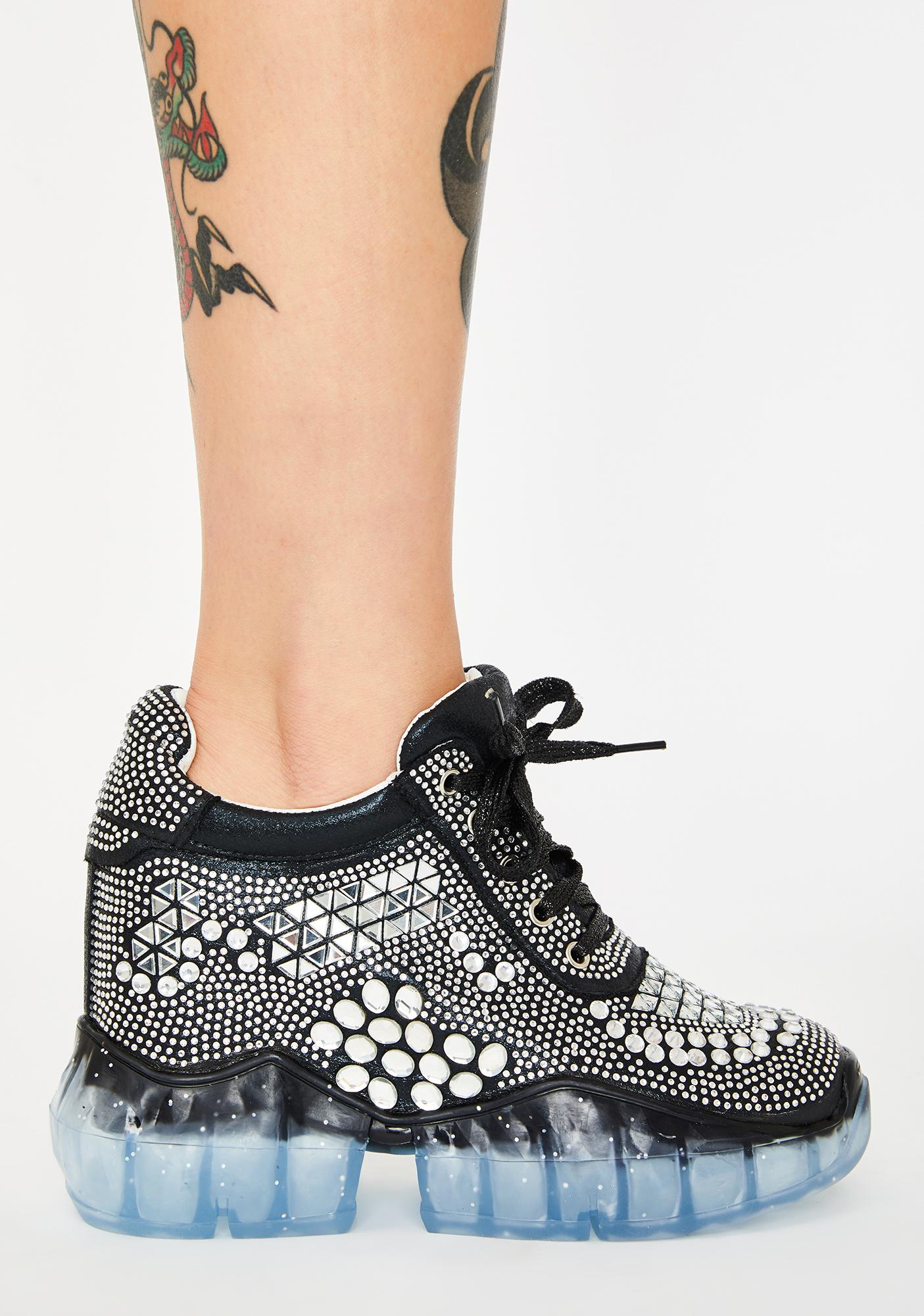 Anthony Wang Shoot To Thrill Platform Sneakers