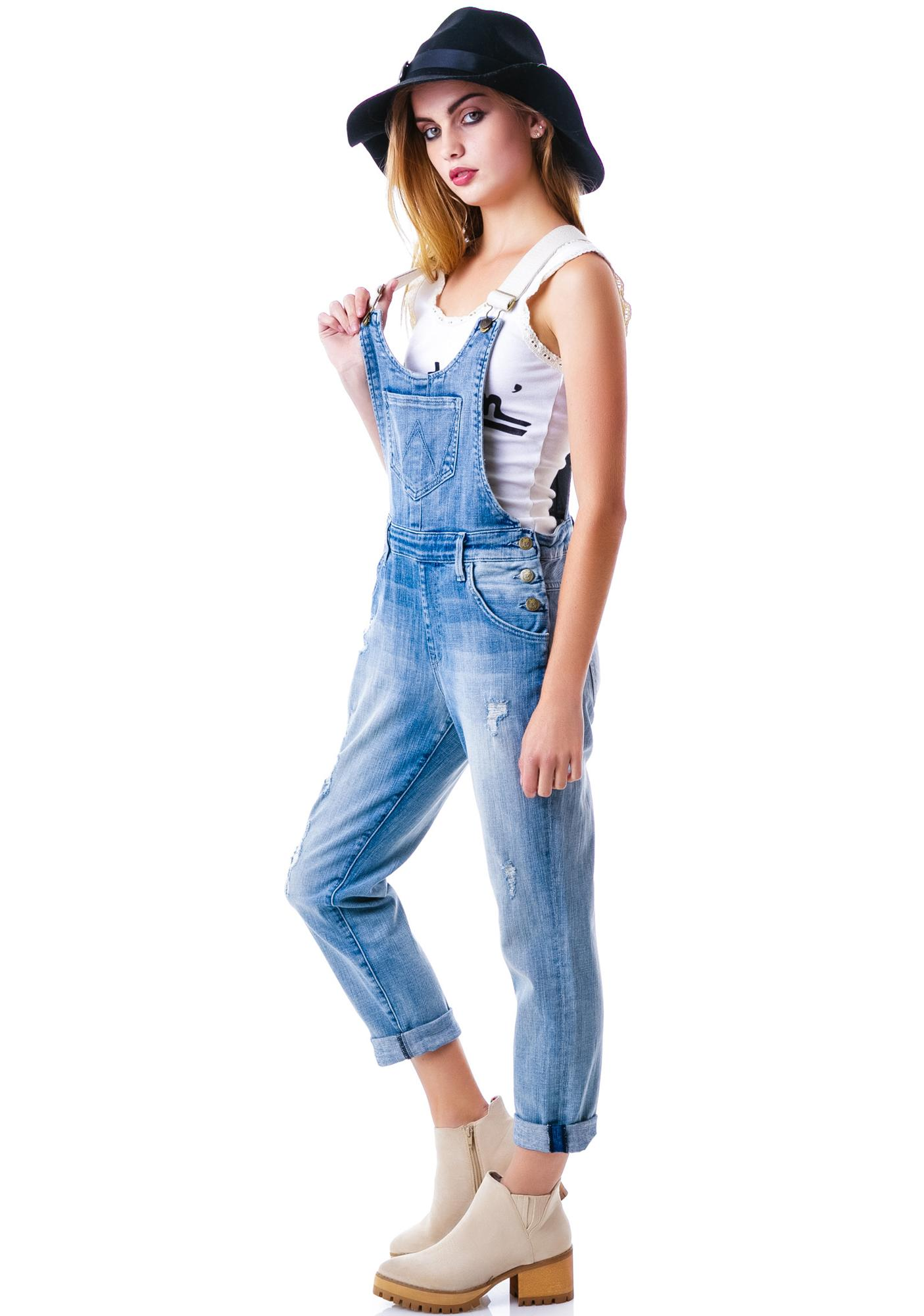 Wildfox Couture Memory Chloe Overalls