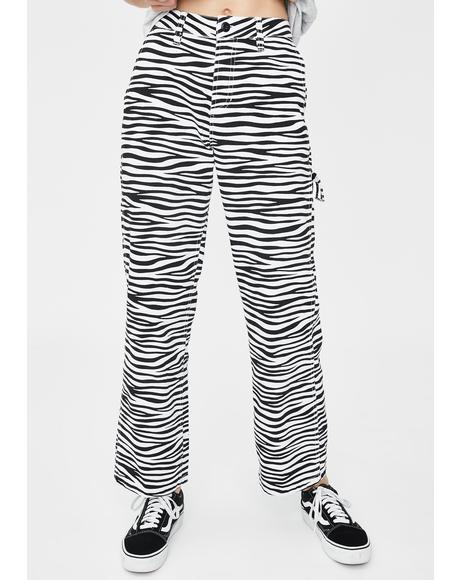 Slacker Print Pants