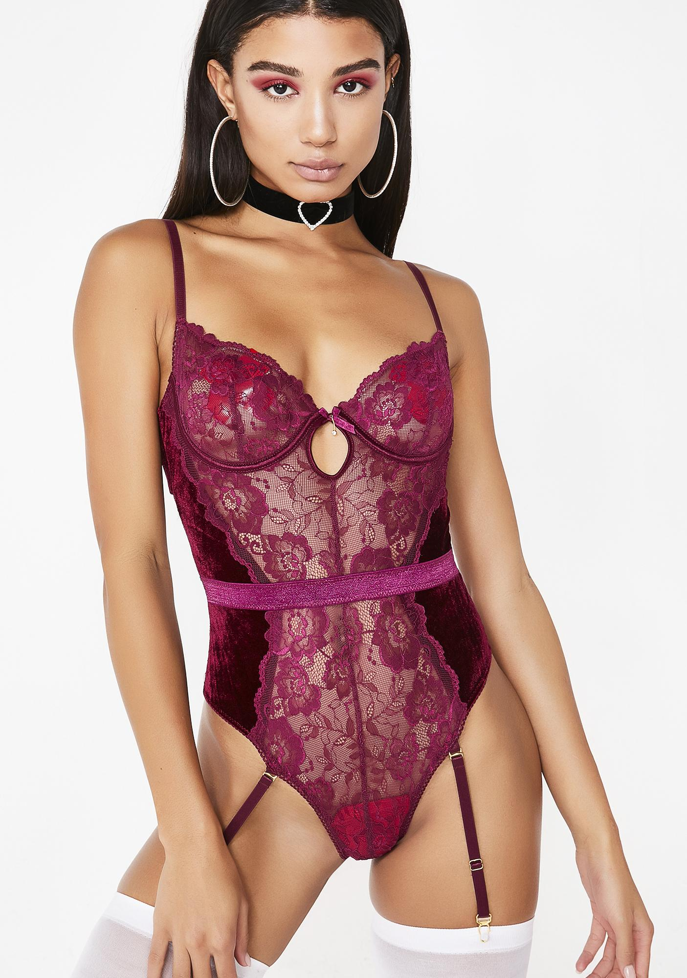 Freak Nasty Lace Teddy