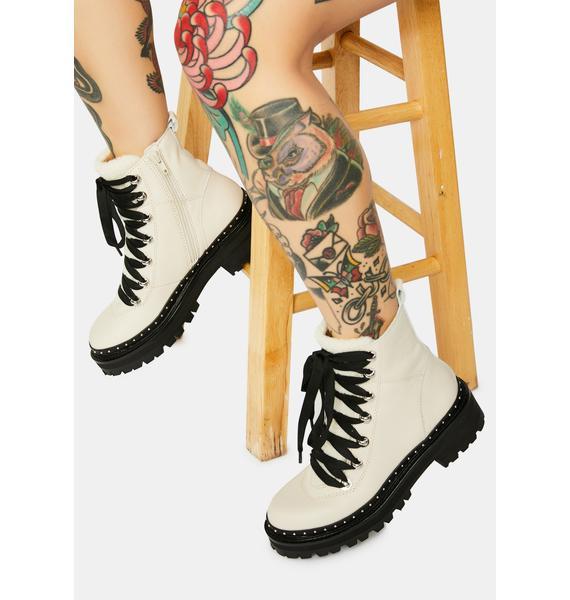 Steve Madden Bone Rainier Moto Boots