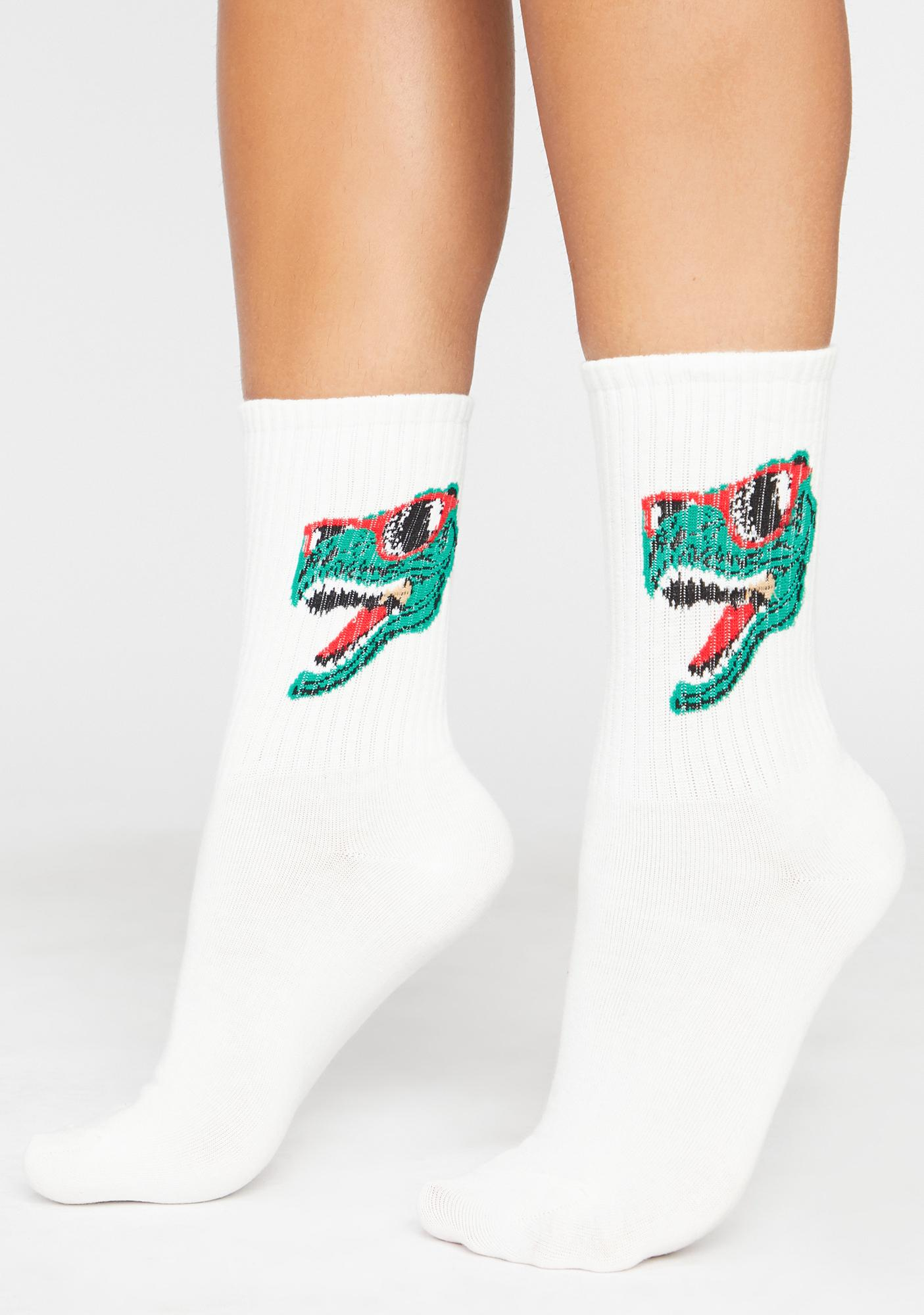 Frozen Dino Byte Crew Socks