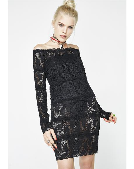Life Of Sin Lace Dress