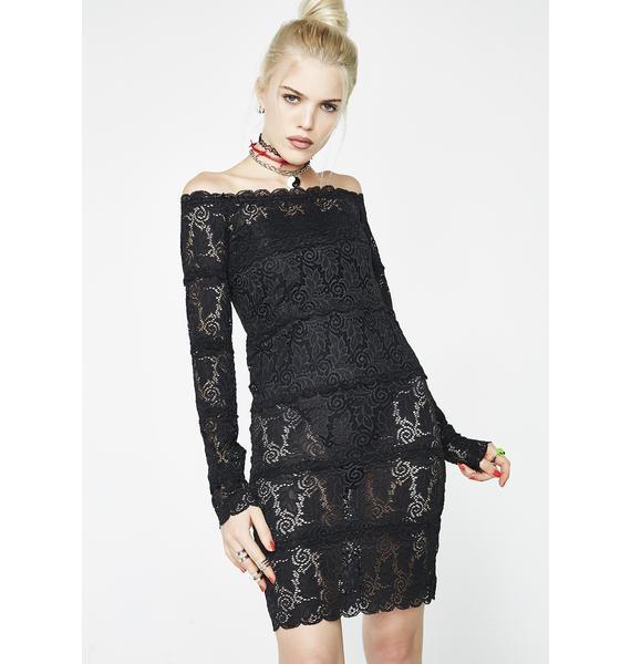 Kiki Riki Life Of Sin Lace Dress