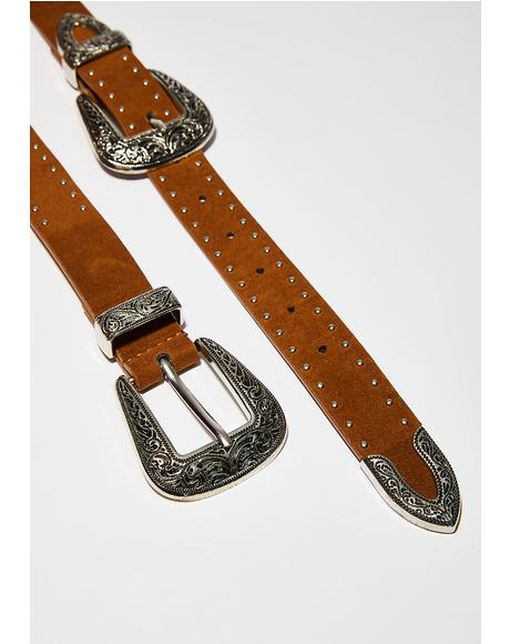 Wild Adventure Double Buckle Belt