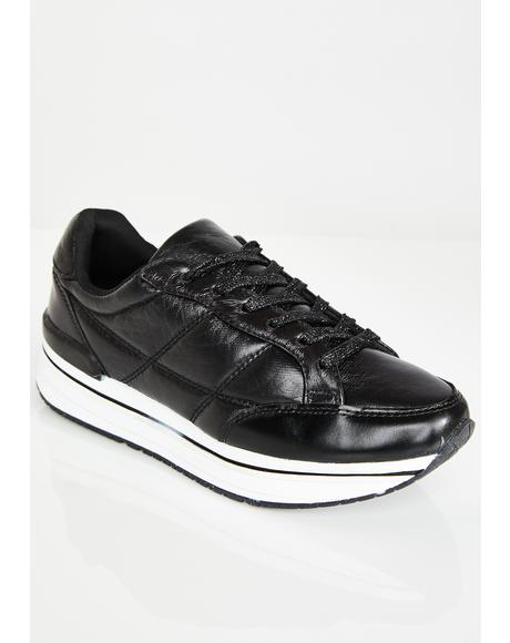 Run Up Platform Sneakers