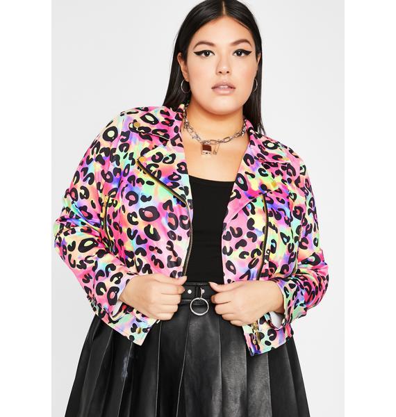 Major Glamour Kitty Moto Jacket