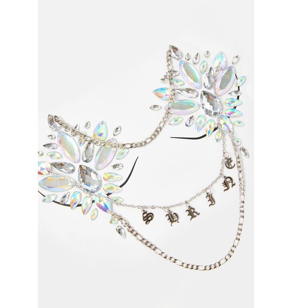 Shrine Body Jewel With Chains