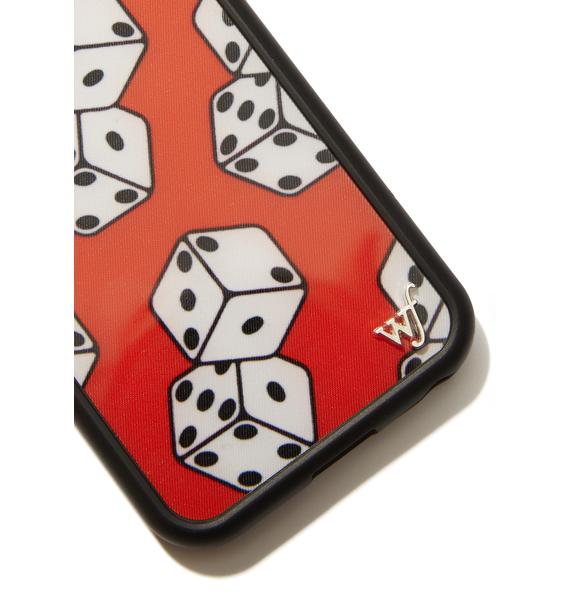 Wildflower Lucky Dice IPhone Case