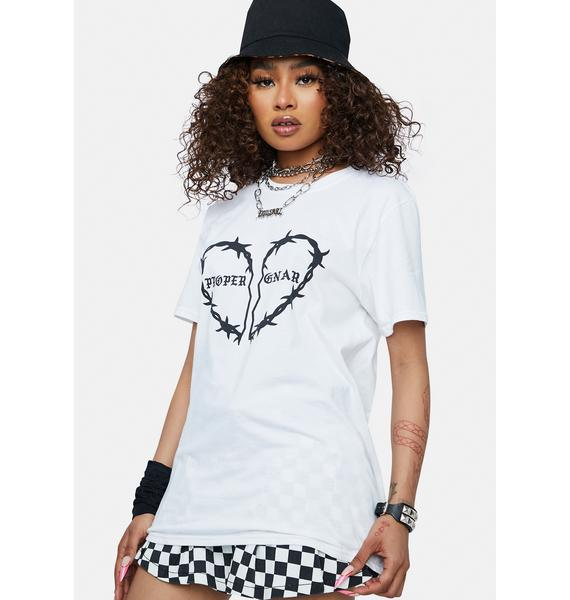 Proper Gnar Barbed Heart Graphic Tee