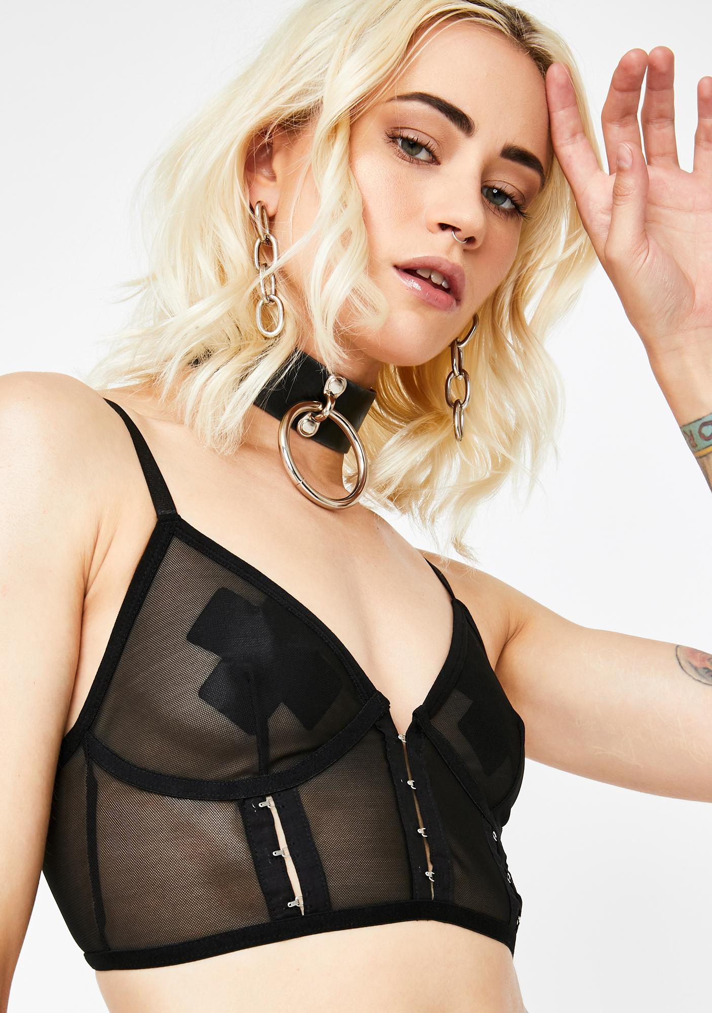 Let's Hook Up Sheer Bralette