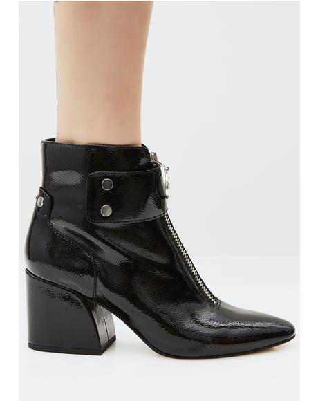 Varra Zip-Up Booties