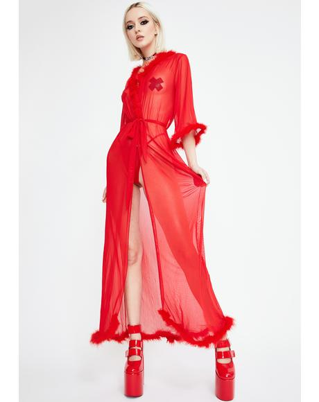 Scarlet Fantasizing About You Robe Set