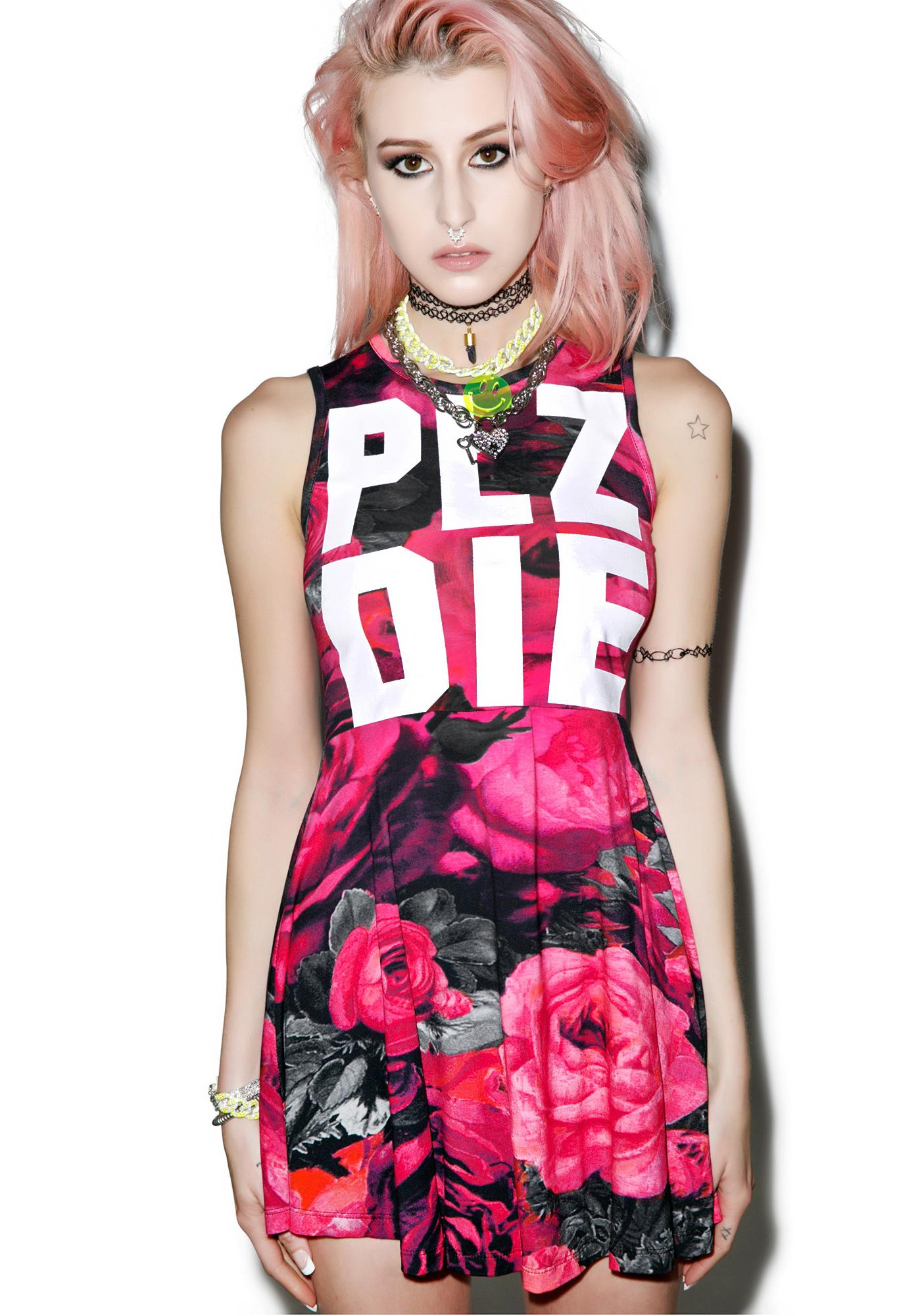 Killstar Plz Die Skater Dress