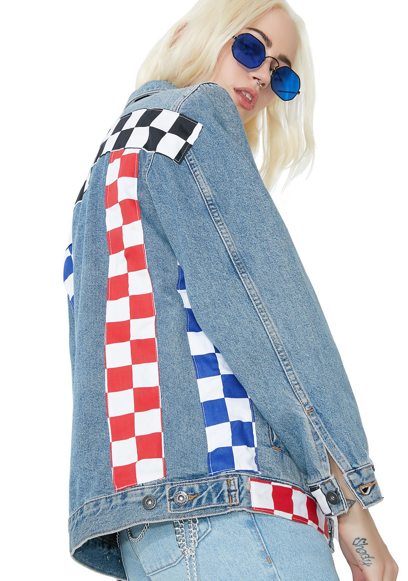 The Ragged Priest Relay Denim Jacket