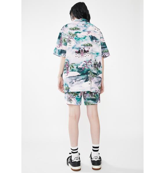 GRIMEY Yanga Button Up Shirt