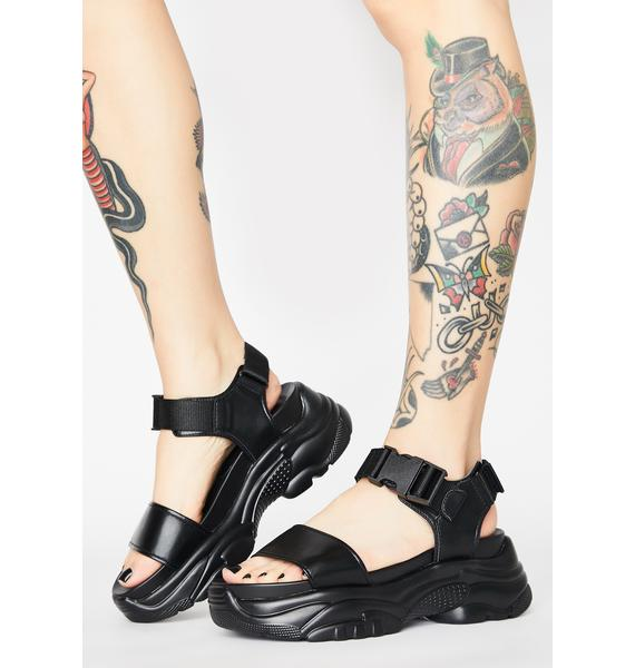 Current Mood Easy Finesse Platform Sandals