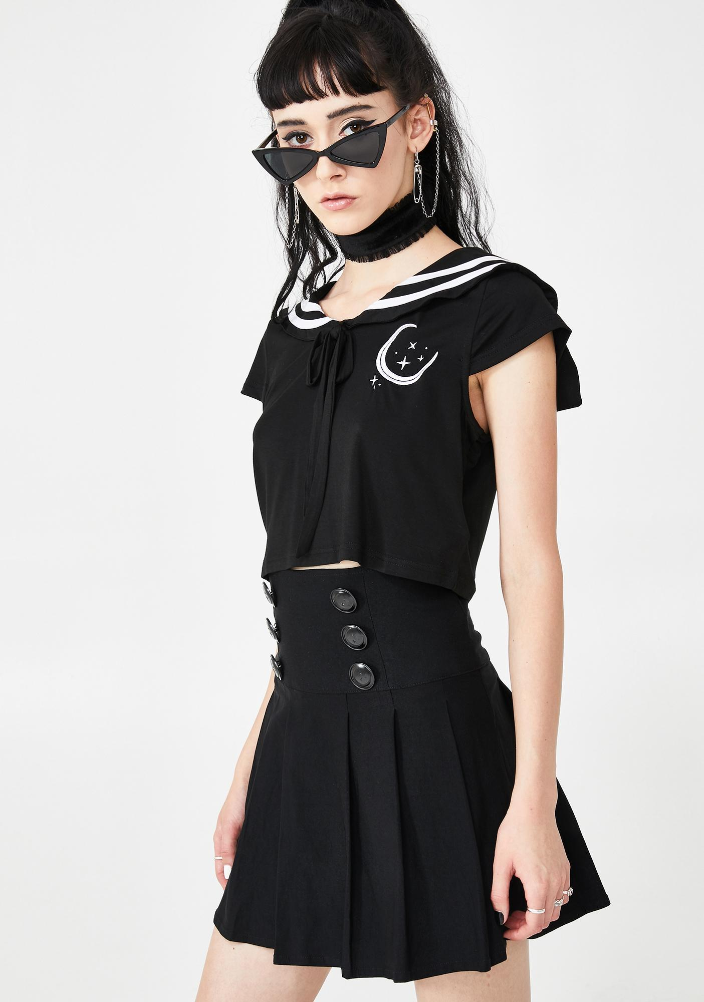 Killstar Tsukiko Pleated Skirt