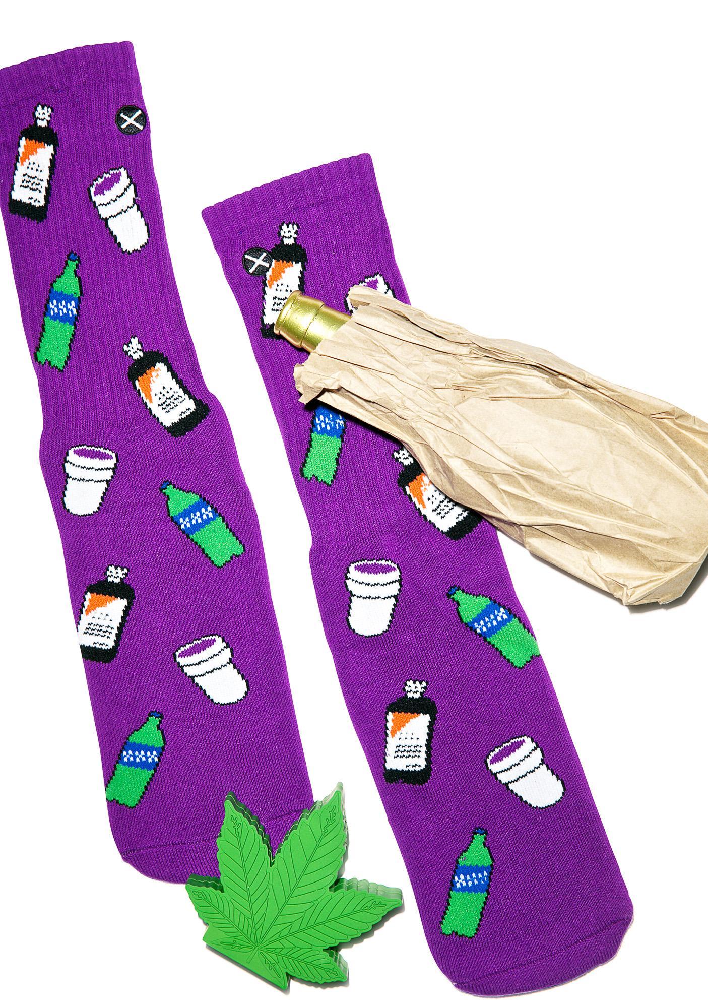 Odd Sox Codeine Crazy Socks