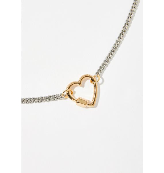ILY Chain Necklace